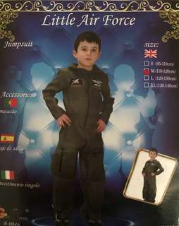 Airforce costume