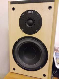 HECO Speaker 1 pair 75% New