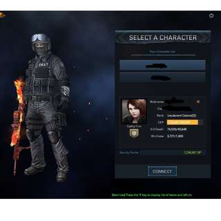 Blackshot LTC (2)  Account