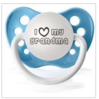 Ulubulu Pacifier | I LOVE GRANDMA or I LOVE GRANDPA