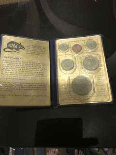 1984 collectible sg coin set