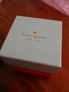 Kate spade watch box