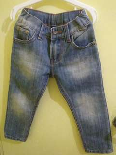 Justees Pants blue for 200 php, orig price was 499