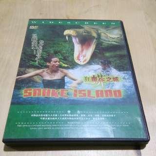 狂蟒之城 DVD(包郵)