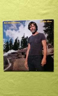 KRIS KRISTOFFERSON . to the bone. Vinyl record