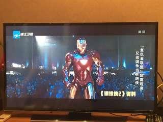 43'' Samsung smart TV