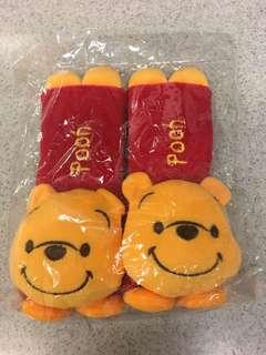Winnie the Pooh 維尼熊汽車安全帶套
