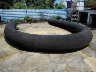 Offshore tugboat/rubber fender
