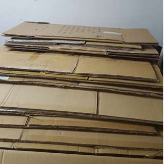 Assorted Used Corrugated Carton Boxes For Sale!