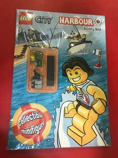 BNIB Lego City Harbour Activity Book