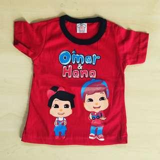 Baby T-shirt omar hana