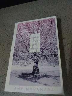 Novel lovely, dark and deep, by Amy mcnamara