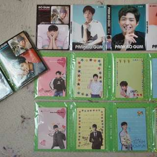 Park Bo Gum and Kim Soo Hyun Notepad
