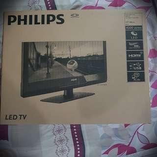 "19"" Philips LED TV 4000 series"
