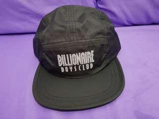 Billionaire Boys Club (BBC) 5 Panel Straight Logo Print Cap (100% Authentic)