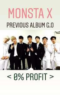 Monsta X PREVIOUS Album G.O