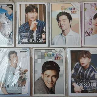Kdrama Oppa Post Cards and Stickers