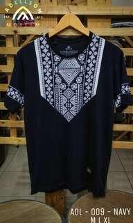 Tshirt Koko Muslim ADL 009 Navy
