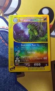 Tyranitar Aquapolis 40/147 Reverse Holo Pokemon Card