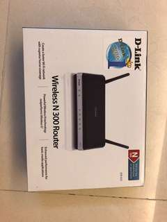 D Link Wireless N300 Router