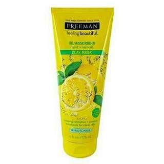 (PROMO) READY Freeman lemon mint 175ml