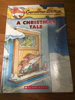Geronimo Stilton-A Christmas Tale (hardcover)