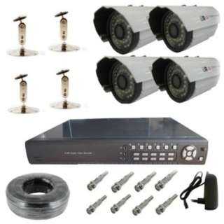 4ch CCTV security outdoor Camera Package#101(no include hdd)