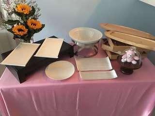 Dessert table setting 1