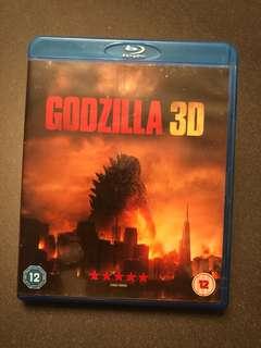 Imported 3D Godzilla Blu Ray