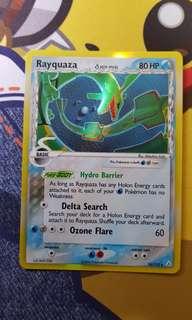Rayquaza Delta Species 16/110 Holo Rare Pokemon Card Holon Phantoms