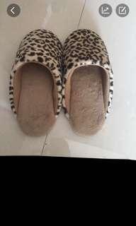 🚚 🌟豹紋拖鞋
