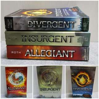 Preloved Divergent Trilogy