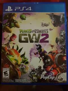 Plants vs zombies GW2 PS4 - trade and sell