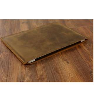 MacBook, IPad & Tablet Leather Sleeve case Handmade (Customizable)