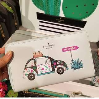 Pre-order: KATE SPADE OUT OF THE OFFICE WALLET