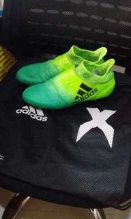 Adidas X Football Shoes( REAL and TOP )80%new eur42 uk8.5 us9
