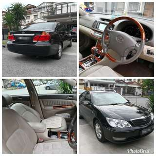 Toyota camry 2.4 G spec 2004 for sales