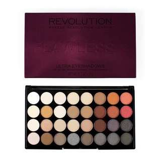 Makeup revolution ultra 32 shade eyeshadow - flawless 2 (RAMADHAN SALE)