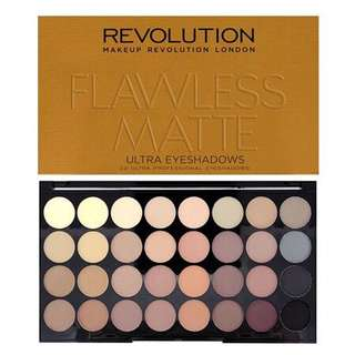Makeup revolutions ultra 32 shade - flawless matte (RAMADHAN SALE)