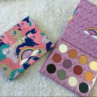 My little pony eyeshadow