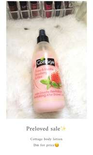 Cottage body lotion