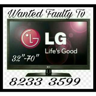 Wanted spoilt Lg Tv