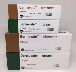 Dermovate cream/ointment