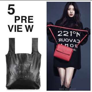 🇸🇪 5 Preview Black Leather Bag 黑色皮袋