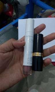 Zoya lip cream & revlon lipstick