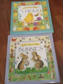 Animal book set of 2