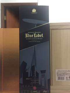 Johnnie Walker Blue Label Singapore 新加坡限定版 威士忌 1L