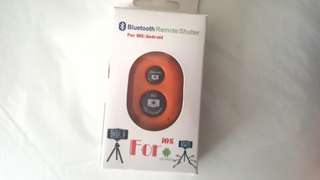Bluetooth remote camera control
