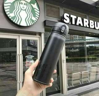 Classy Black Starbucks Tumbler