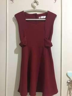 Jrep red dress